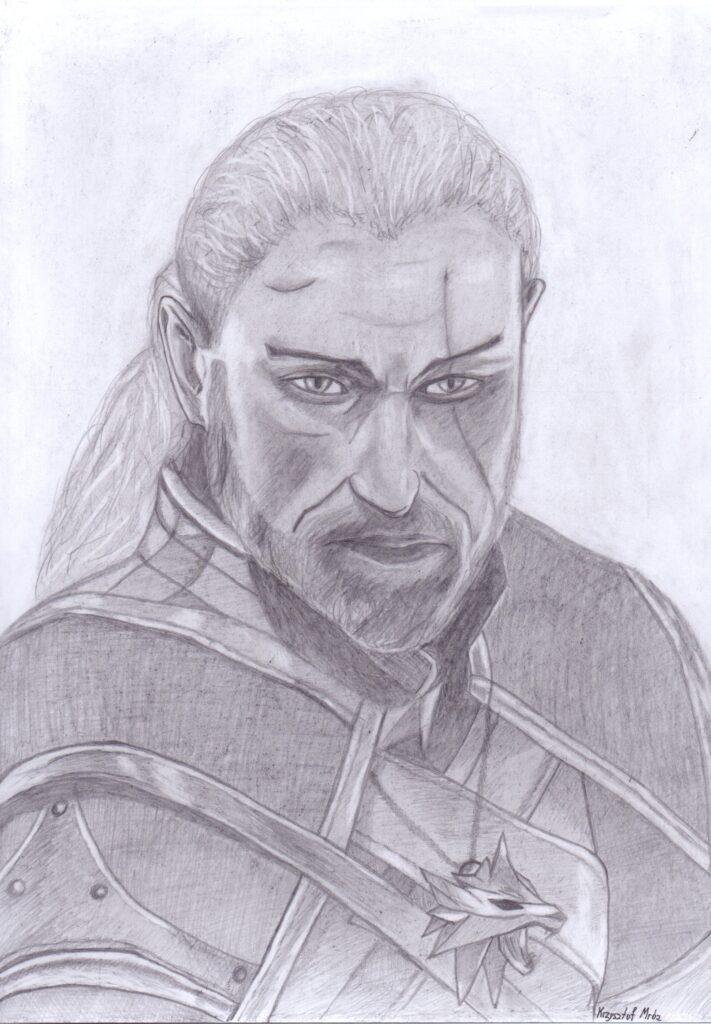 Lista 60 cytatów z książek fantasy o życiu, miłości i przyjaźni. | Fantasmagoria Wiedźmin Geralt portret dla cytatów o Wiedźmienie